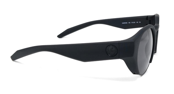 DRAGON Sunglasses COMPASS 002 Matte Black Round Men's 51x20x145