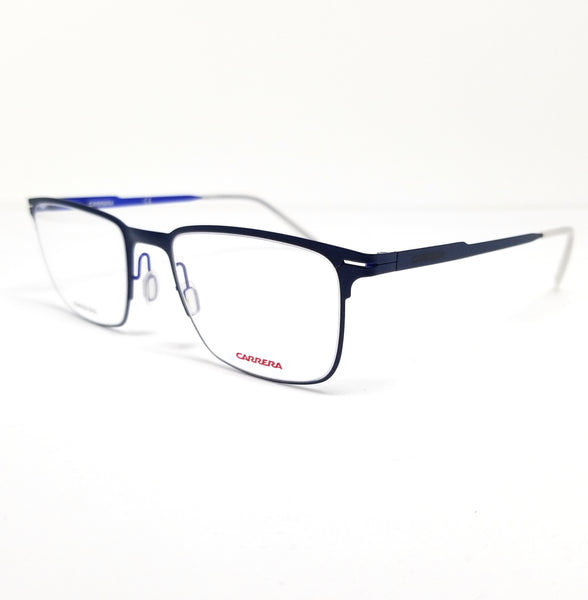 CARRERA Eyeglasses CA6661 VBM Matte Blue Men 52x20x145