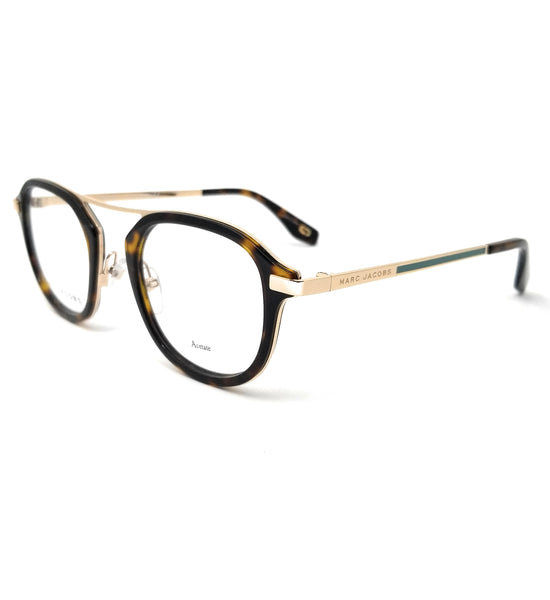 MARC JACOBS Eyeglasses MARC 389 086 Dkhavana Men 49x23x145
