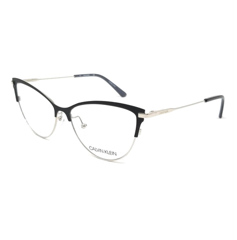 CALVIN KLEIN Eyeglasses CK19111 001 Black Cat Eye Women 53x14x140