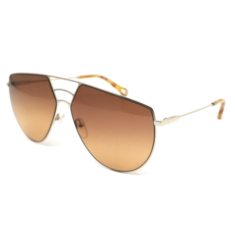 CHLOE Sunglasses CE139S 805 Gold Aviator 62x13x140