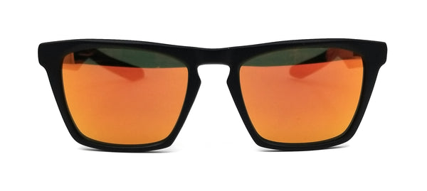 DRAGON Sunglasses DRAC ION 005 Matte Black Modified Rectangle Men 53x20x145