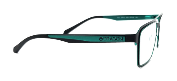 DRAGON Eyeglasses DR175 KAZ 004 Satin Black Navigator Men 52x20x140