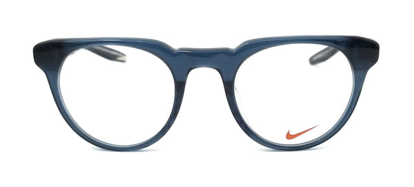 NIKE Eyeglasses KD 28 402 Midnight Teal Round Men 49x22x145