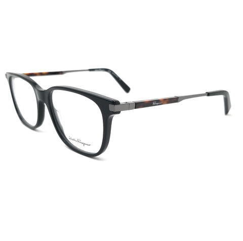 Salvatore Ferragamo Eyeglasses SF2803 001 Black Rectangle Men 54x17x145