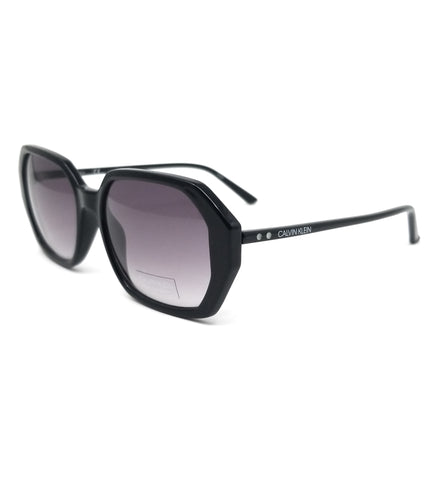 CALVIN KLEIN Sunglasses CK18535S 001 Black Modified Rectangle Women 55x17x140