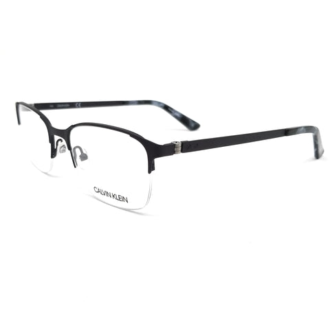 Calvin Klein Collection Eyeglasses CK8038 033 Gunmetal Rectangle Men 52x19x140