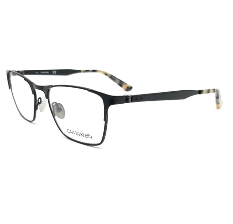 Calvin Klein Collection Eyeglasses CK8040 001 Black Rectangle Men 51x18x140