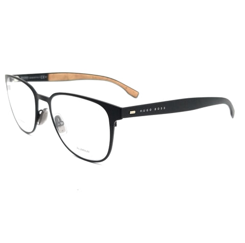BOSS by Hugo Boss Eyeglasses 0885 0S2 Matte Black Men 52x19x145