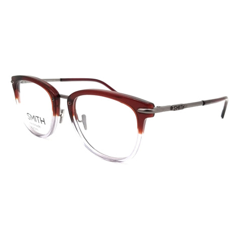 SMITH Eyeglasses QUINLAN IOX Red Crystal Unisex 51x19x140