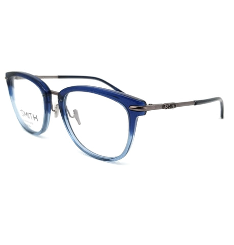 SMITH Eyeglasses QUINLAN IOV Blue Crystal Unisex 51x19x140
