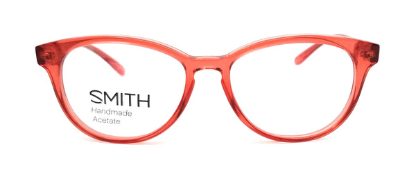 SMITH Eyeglasses FINLEY 5M9 Transparent Red Unisex 51x16x140