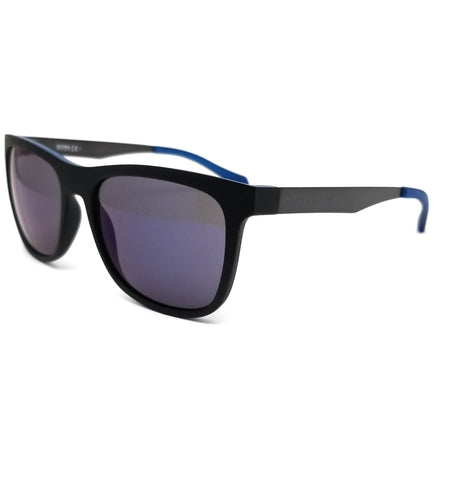 BOSS by Hugo Boss Sunglasses 0868S 0N2 Matte Black Blue Men 55x18x145
