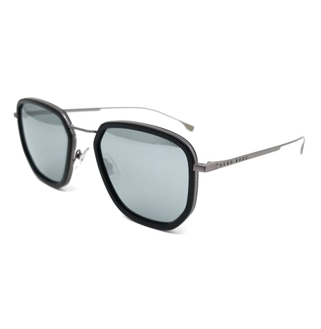 BOSS by Hugo Boss Sunglasses 1029FS 807 Black Men 55x22x145