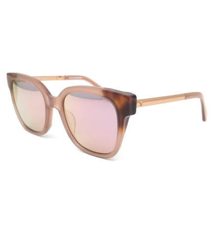 KATE SPADE Sunglasses CAELYN L93 Nude Havana Honey Women 52x20x140