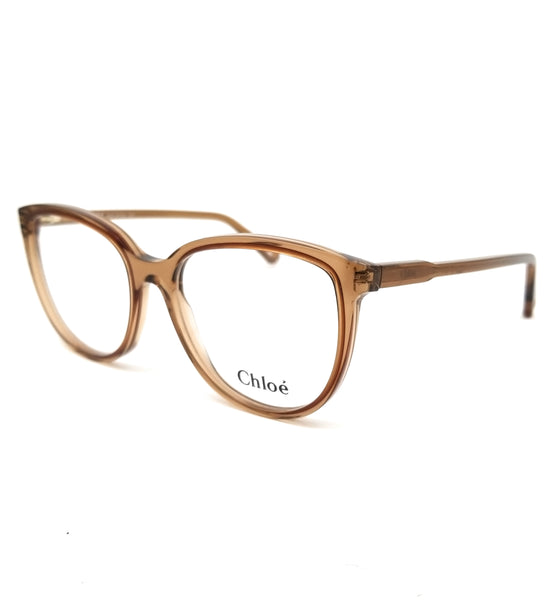 CHLOE Eyeglasses CE2719 210 Brown Cat Eye Women 54x17x140