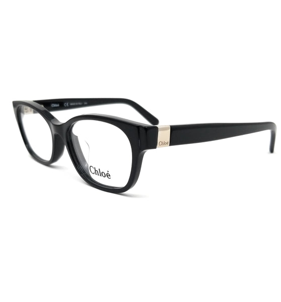 CHLOE Eyeglasses CE2701A 001 Black Modified Rectangle Women 52x16x140