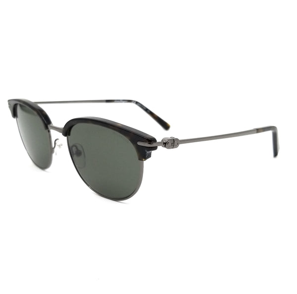 Salvatore Ferragamo Polarized Sunglasses SF2164SP 073 Havana-DK Ruthenium 52x19