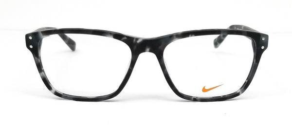 NIKE Eyeglasses 7241 060 Grey Tortoise Modified Rectangle Men 54x16x140