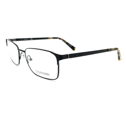 Calvin Klein Collection Eyeglasses CK8013 001 Black Rectangle Men 53x17x140
