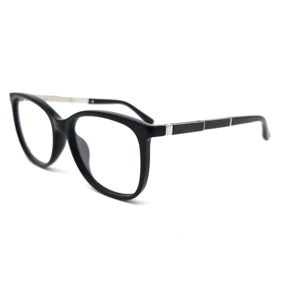 JIMMY CHOO Eyeglasses JC191 807 Black Women 53x17x140