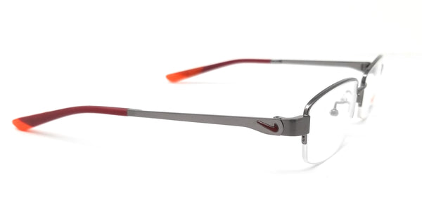 NIKE Eyeglasses 4820AF 035 Brushed Gunmetal Butterfly Men 53x18x140