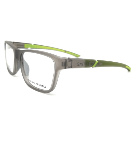 SMITH Eyeglasses RELAY XL SE8 Grey Green Men 55x18x135