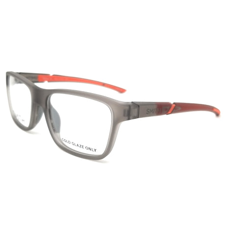 SMITH Eyeglasses RELAY XL 2M8 Matte Grey Orange Men 55x18x135