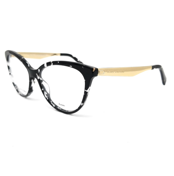 MARC JACOBS Eyeglasses MARC 205 9WZ Havana Black Crystal Women 54x16x140
