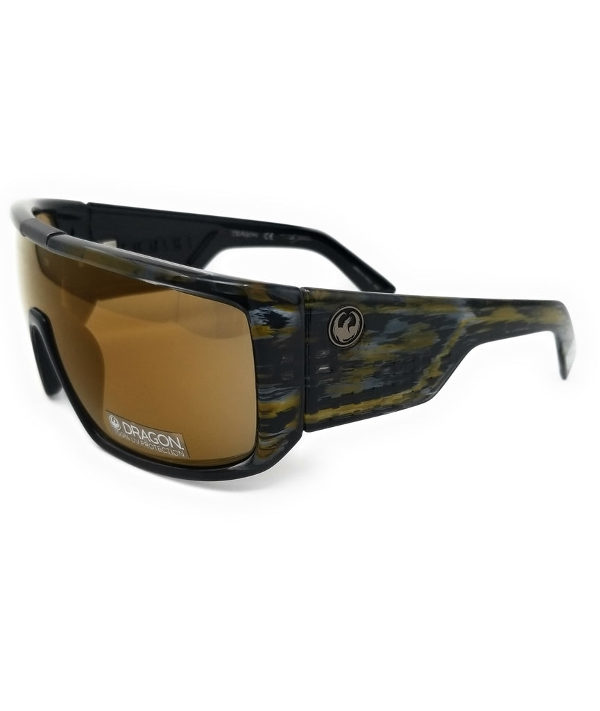 DRAGON Sunglasses DOMO LL MI ION 963 Rob Machado Resin Rectangle Men 70x14x130