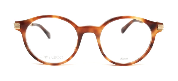 JIMMY CHOO Eyeglasses JC213 086 Dark Havana Women 49x20x140