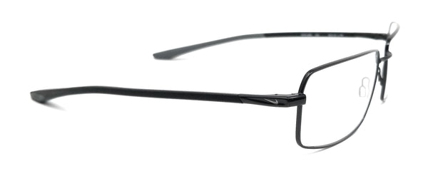 NIKE Eyeglasses 4286 002 Black Rectangle Men 58x18x150