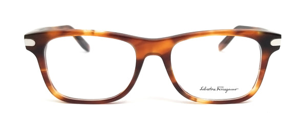 Salvatore Ferragamo Eyeglasses SF2829 214 Tortoise Rectangle Men 53x18x140