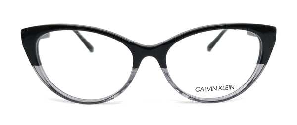 CALVIN KLEIN Eyeglasses CK19706 074 Black-Crystal Cat Eye Women 54x16x140