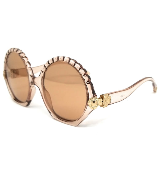 CHLOE Sunglasses CE745S 272 Crystal Turtledove Round Women 56x20x140