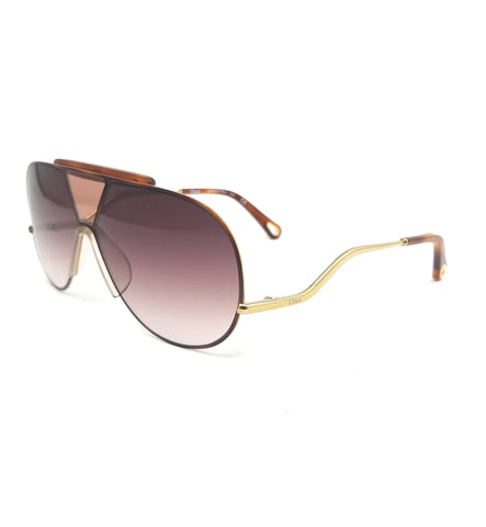 CHLOE Sunglasses CE154S 213 Havana-Brown Navigator Women 64x11x140