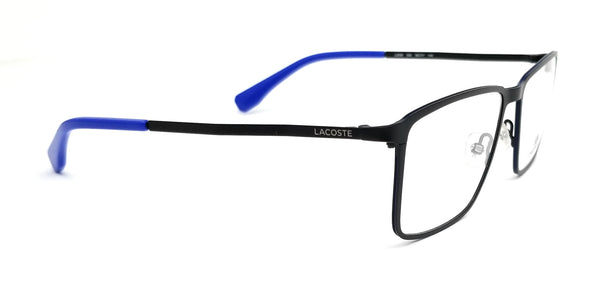 LACOSTE Eyeglasses L2239 002 Matte Black Rectangle Men 56x17x140