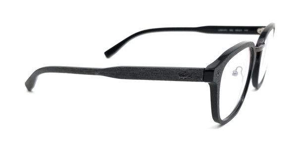 LACOSTE Eyeglasses L2831PC 002 Onyx Rectangle Men 50x21x145