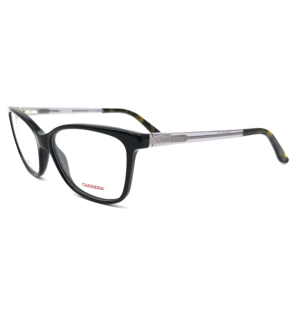CARRERA Eyeglasses CA6646 3L3 Black Grey Women 52x15x140