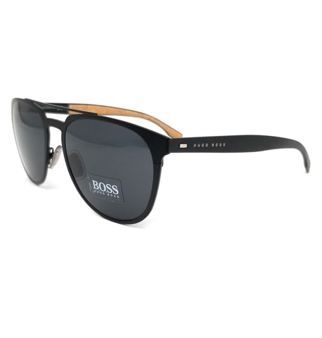 Boss by Hugo Boss Sunglasses 0882S 0S2 Matte Black Men 57x19x145