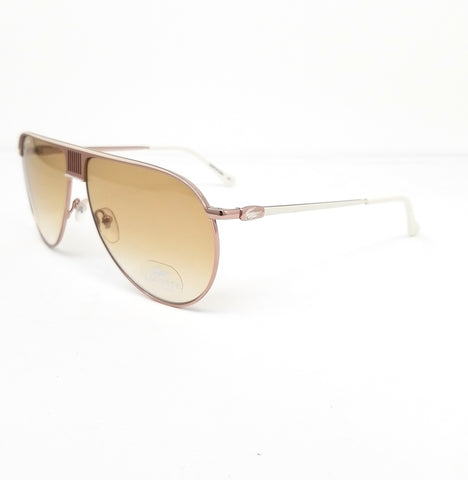 LACOSTE Sunglasses L200S 714 Gold-Ivory Aviator Men 62x12x140