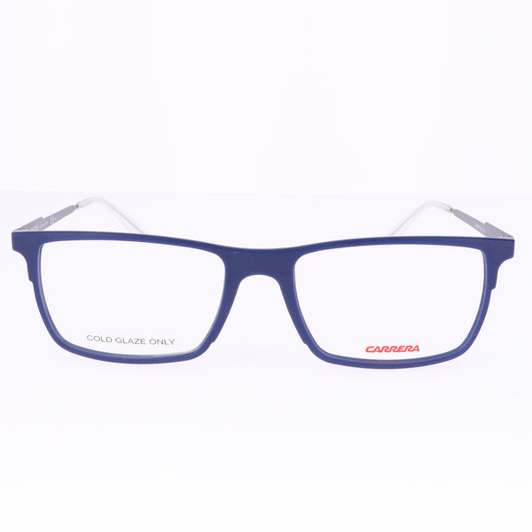 CARRERA Eyeglasses 6664 R5J Blue Men 53x17x145
