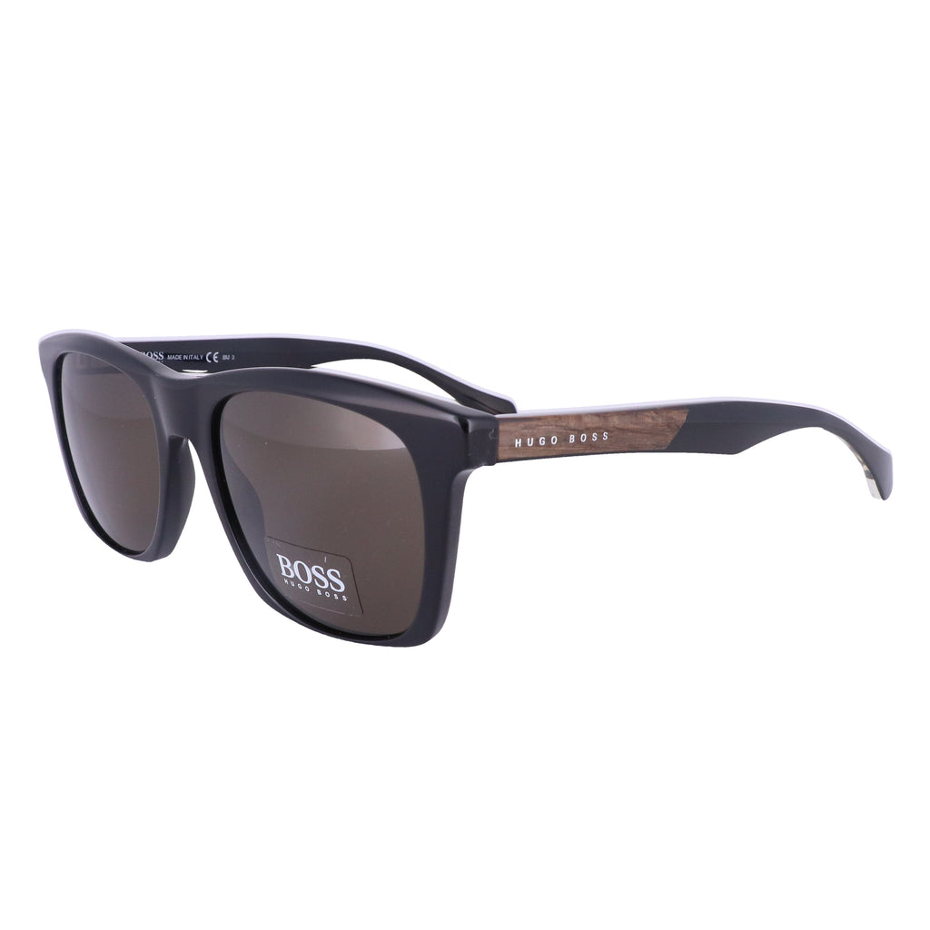 BOSS Sunglasses 0911S 1YS Black Men 53x19x145