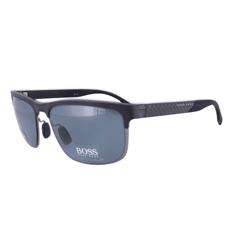 BOSS Sunglasses 0835S HWV Black Carbon Black Men 58x18x145