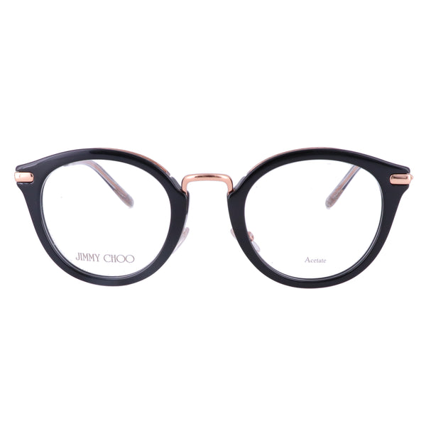 JIMMY CHOO Eyeglasses JC204 807 Black Women 47x23x145