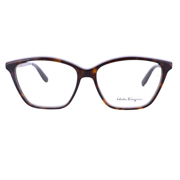 Salvatore Ferragamo Eyeglasses SF2804R 214 Dark Havana Women 55x14x140