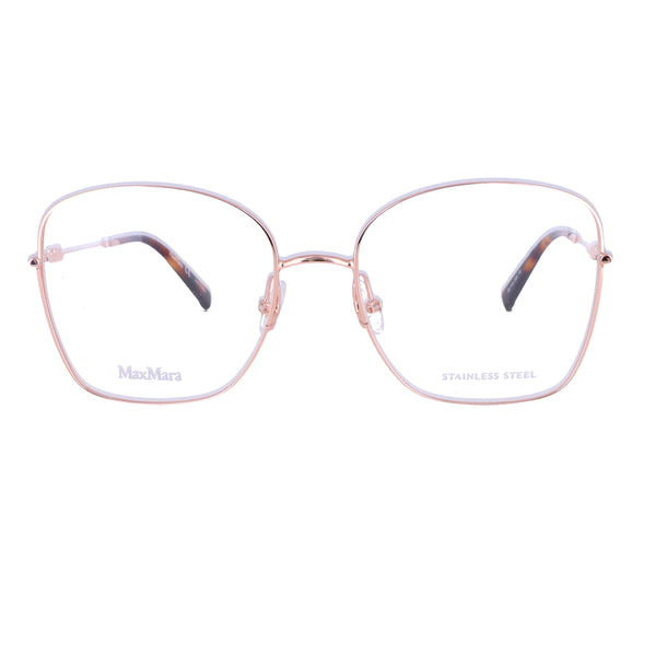 MAX MARA Eyeglasses MM 1416 DDB Gold Copp Women 53x17x140