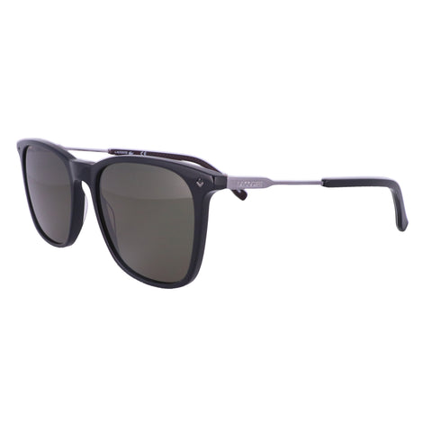 LACOSTE Sunglasses L870S 001 Shiny Black Rectangle Men 55x18x145