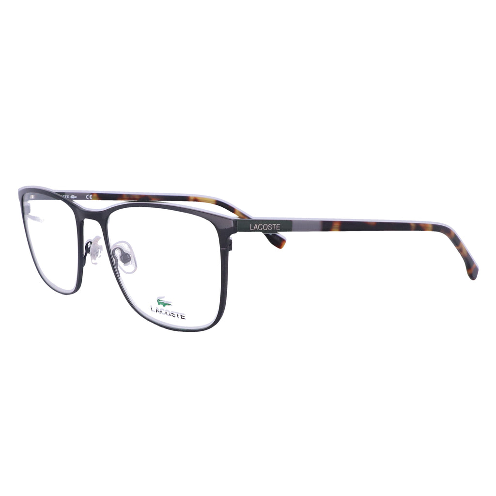LACOSTE Eyeglasses L2247 001 Black Rectangle Men 55x19x145