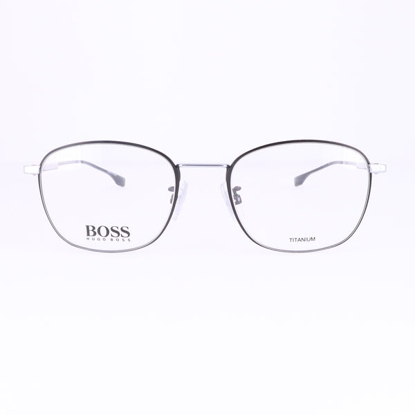 BOSS Eyeglasses 1067F 0124 MATTE BLACK SILVER Men 50x19x145